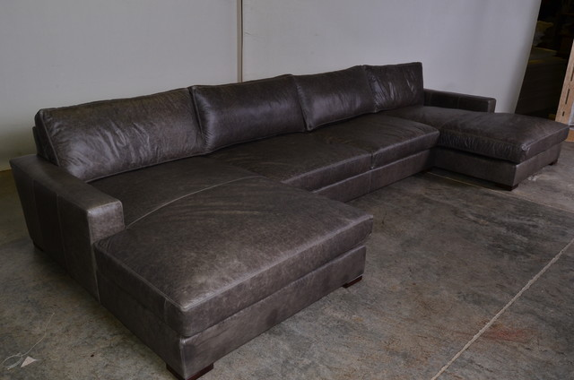 Sofa With Two Chaise Thesofa. Double Chaise Lounge Sectional Sofa : double chaise sofa lounge - Sectionals, Sofas & Couches