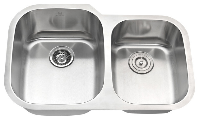 Anzzi Moore Undermount Stainless Steel Kitchen Sink W/harbour Faucet.
