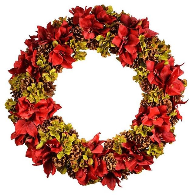 Amaryllis Wreath.
