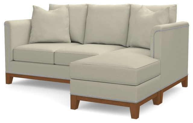 La Brea Reversible Chaise Sofa Buckwheat transitional-sectional-sofas  sc 1 st  Houzz : reversible chaise sofa - Sectionals, Sofas & Couches
