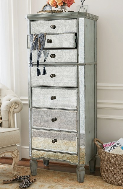 Charmant Mirrored Lingerie Chest