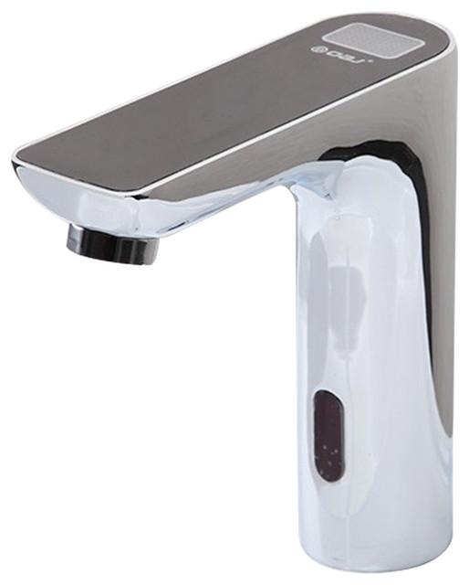 Fontana Showers Romo Digital Display Motion Sensor Faucet Black Top Reviews Houzz