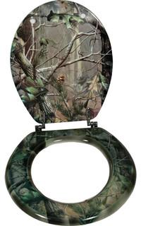 shop houzz rivers edge camouflage toilet seat toilet seats