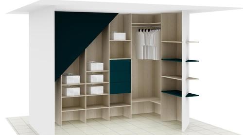 des id es pour un dressing style scandinave vintage. Black Bedroom Furniture Sets. Home Design Ideas