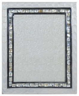 Mother of pearl picture frame 20x25 cm transitional - Romimex world ...