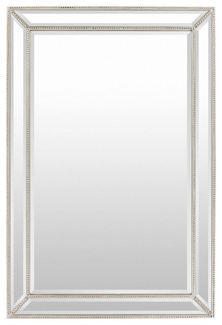 Surya Pemberton Silver Wall Mirror.