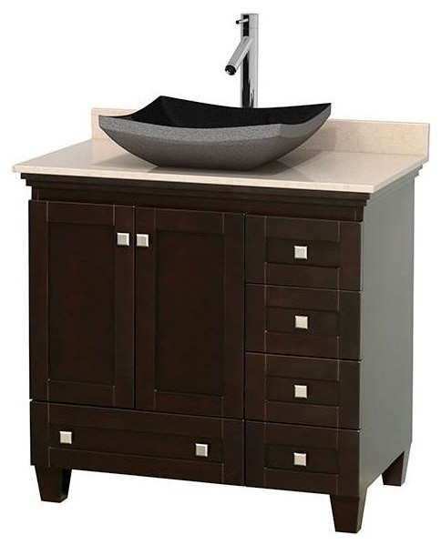 Wyndham collection 34 single eco friendly bathroom vanity - Eco friendly bathroom sinks ...