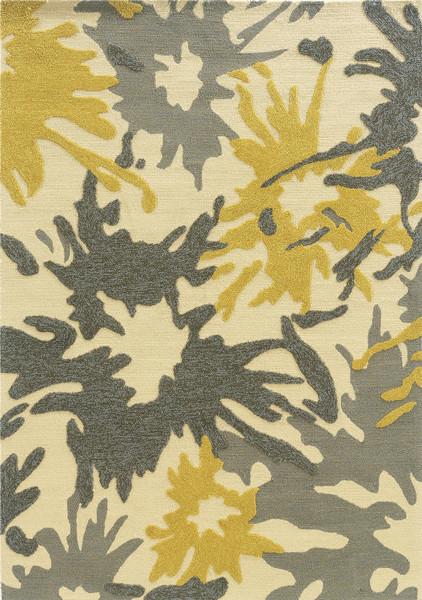 Linon Home Decor, Le Soleil, 8&x27;x10&x27; Ivory Rug.