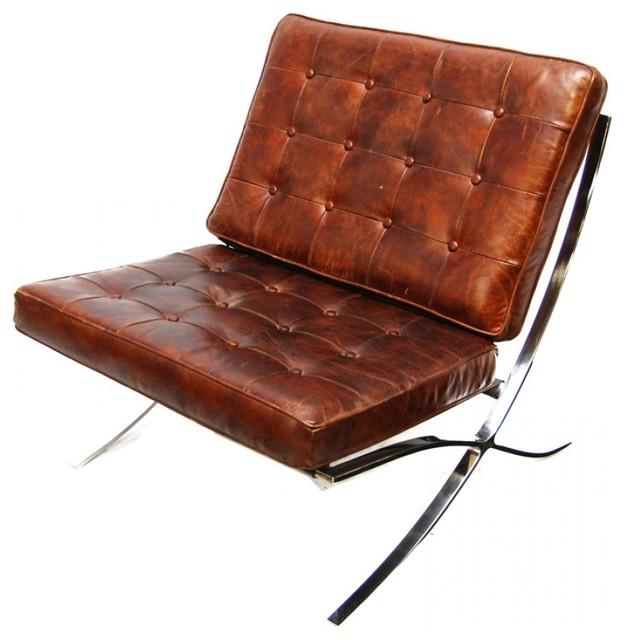 Genial Deacon Leather Chair