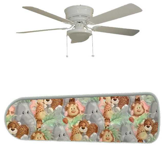 Jungle Babies Baby Nursery 52 Ceiling Fan And Lamp