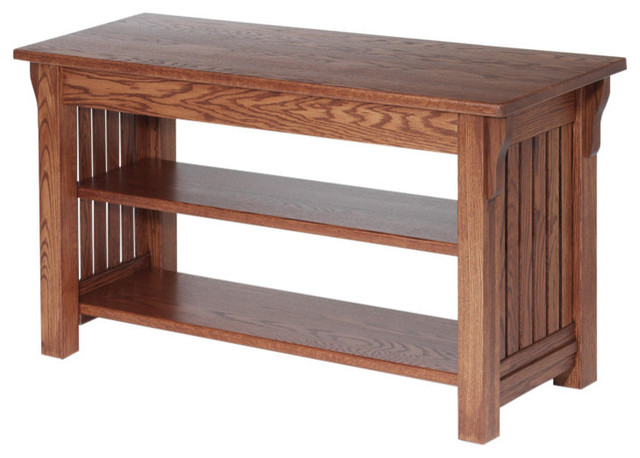 Authentic Mission Style Solid Oak Tv Stand 41