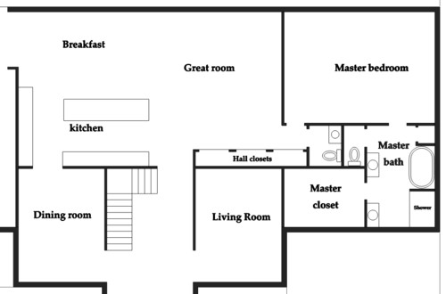 Best Size For A Comfortable Family Room - Family room size