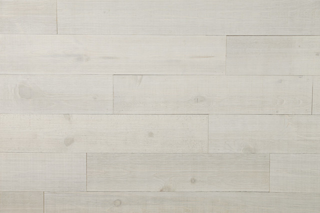 """5.5""""x47.5"""" Weathered White Solid Wood Planking, Set Of 6."""