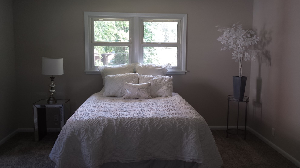 After of beautiful modern bedroom