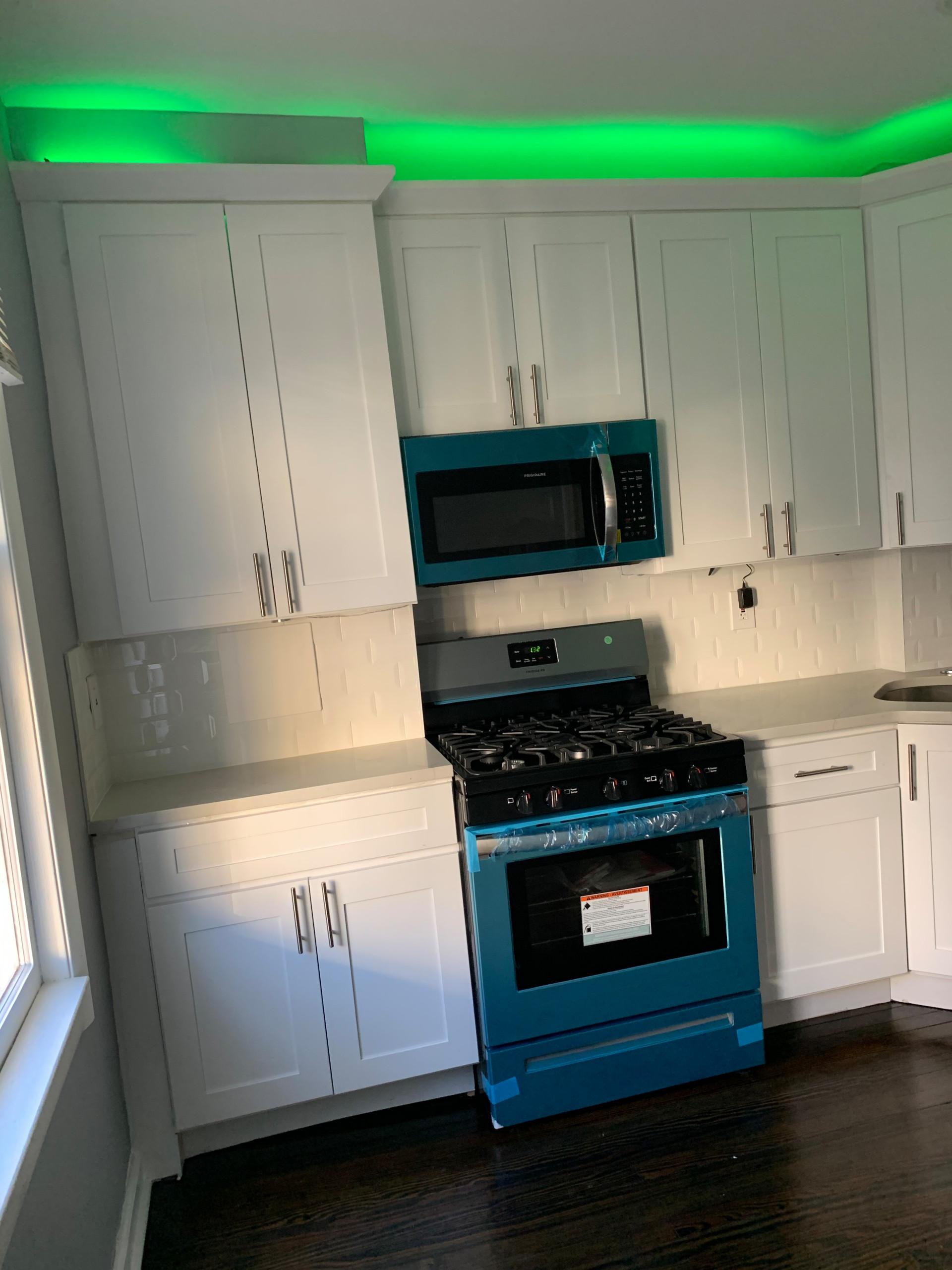 Cove Lit Kitchen