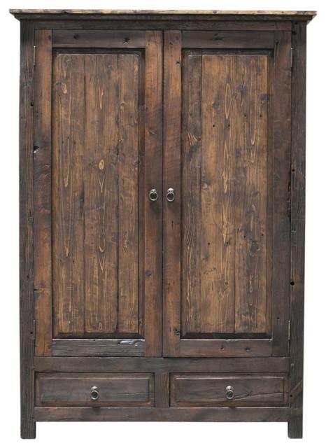 Frederick Linen Closet/Armoire, Espresso, 40x22x80