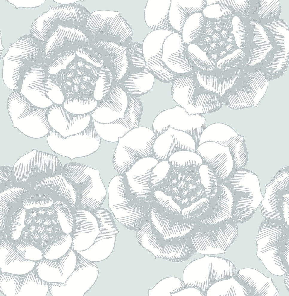 A Street Prints By Brewster 2657 22247 Audra Mustard Floral