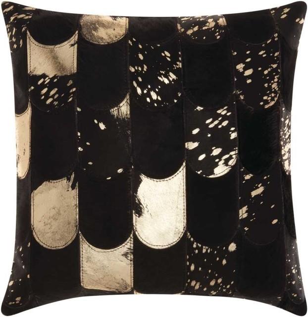 shop houzz nourison nourison lady fingers black and gold. Black Bedroom Furniture Sets. Home Design Ideas