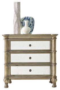 Montage Bedside Chest - Traditional - Accent Chests And Cabinets - by Hooker Furniture
