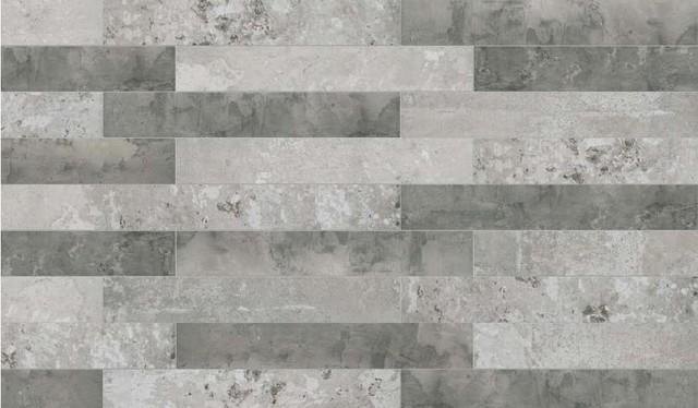 Remix Dir Light Grey Porcelain Tile Contemporary