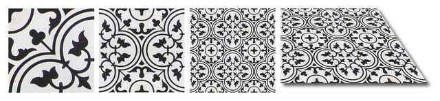 "7.88""x7.88"" Izmir Cement Tile, Set Of 12."