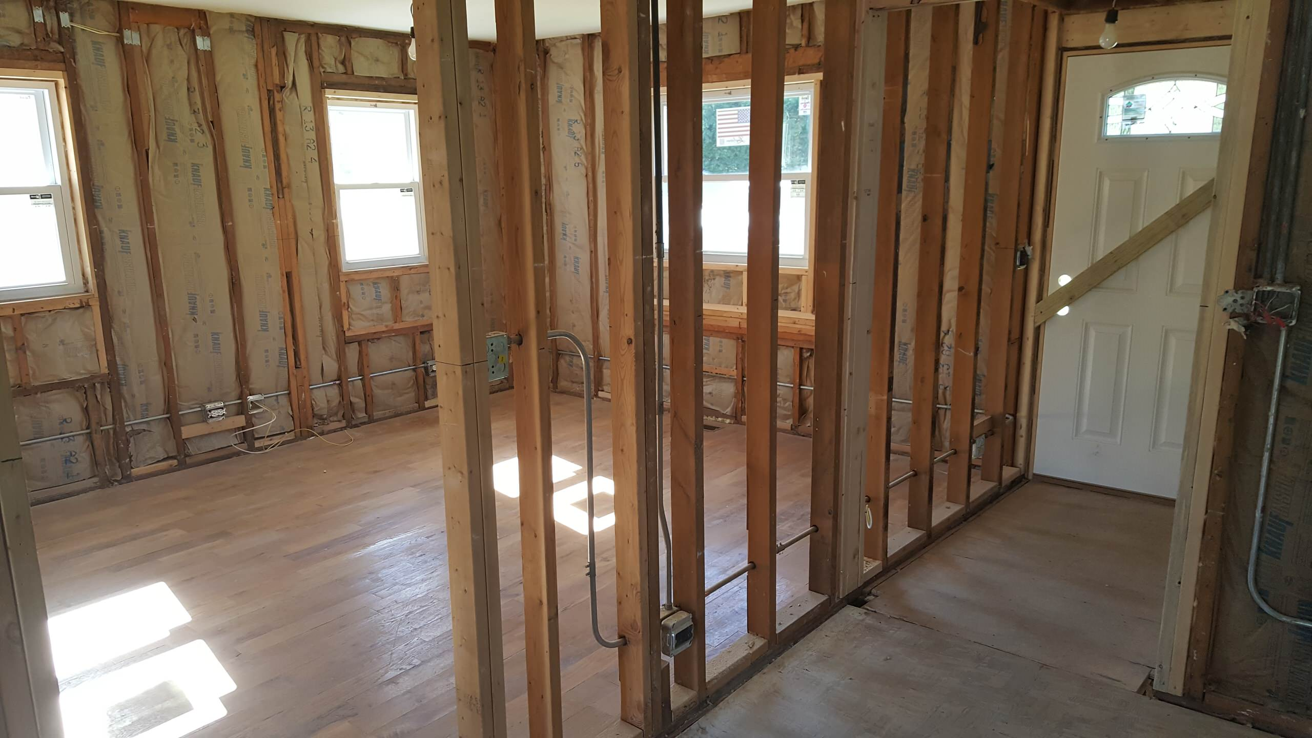 Cottage in early remodel/rehab stages