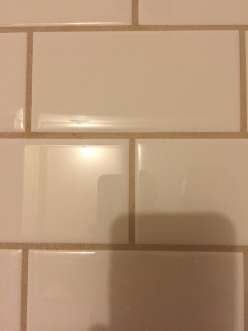 in every other way the tile job appears to be high quality however we canu0027t help feeling like the larger grout lines give the work a dated appearance