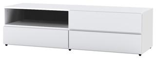 "BLVD 60"" TV Stand, White"