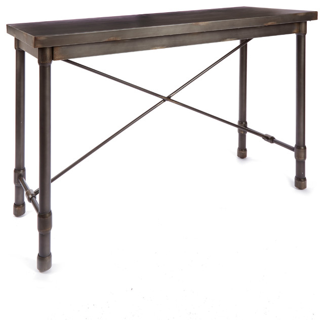 Oxford Industrial Collection Console Table By Silverwood.