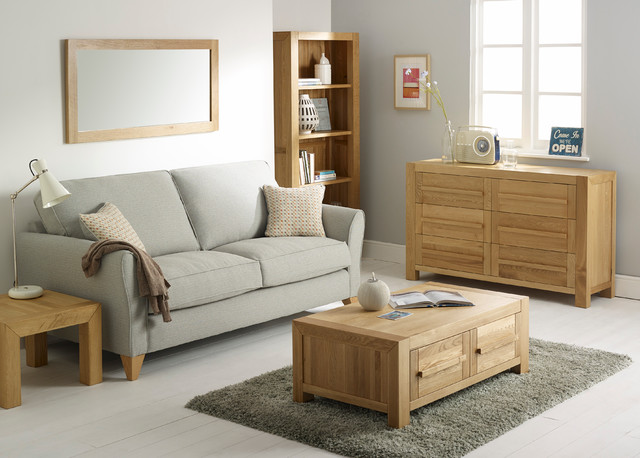 modern oak living room furniture fresco solid oak living room 18935