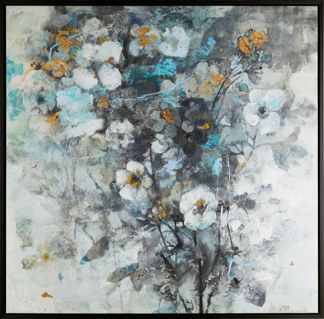 The Flowers Xxii Acrylic On Canvas Art Decor.