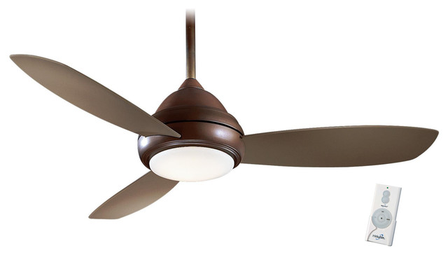 """Minka Aire Concept I Ceiling Fan With Remote Control, Oil Rubbed Bronze, 52""""."""