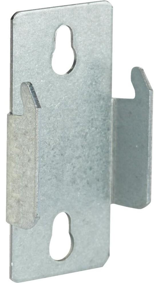 Satin Nickel 2-Pack Kenney Adjustable Curtain Rod Brackets