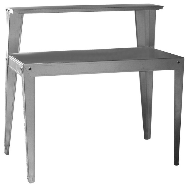 Multi Use Table amerihome multi-use steel table/work bench - industrial - outdoor