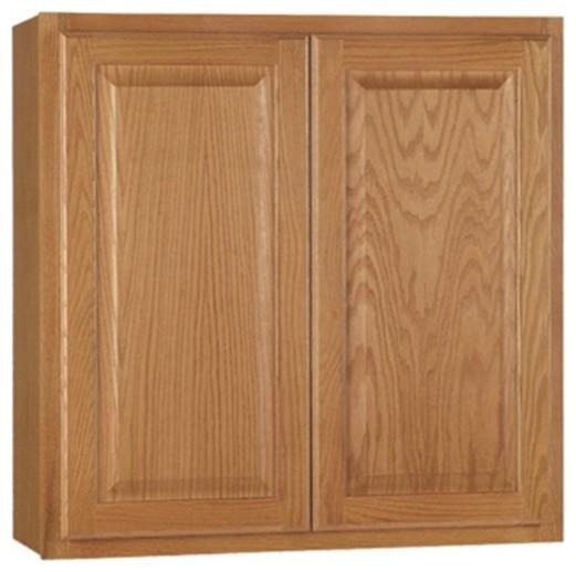"""Wall Cabinet, Oak, 30""""x30"""""""