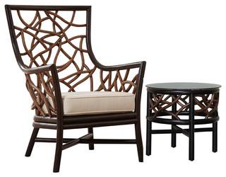Panama Jack Trinidad 2 Piece Occasional Chair Set