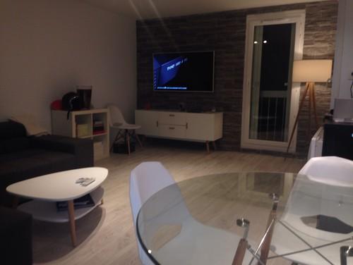 Besoin d id e deco salon cuisine ouverte for Salon d appartement