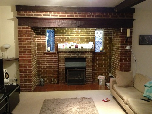Need Help With How Best To Update Our Inglenook Fireplace