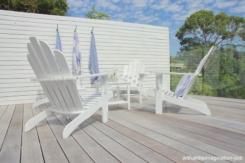White Washing A Deck--good Idea? And How?