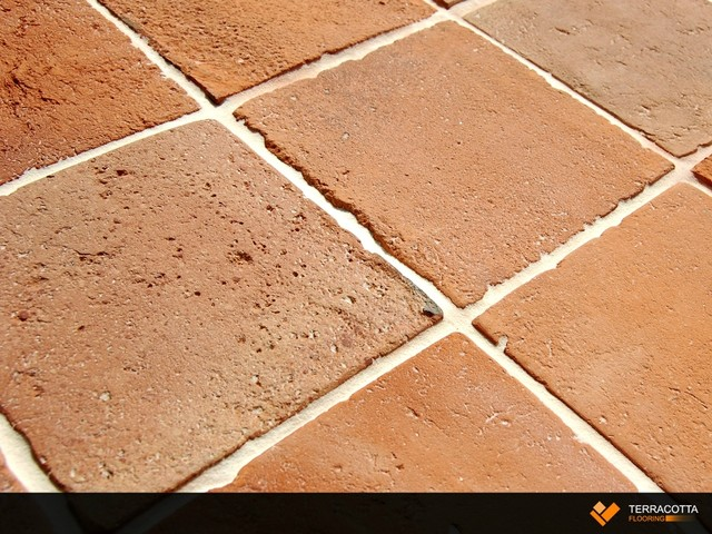 Reclaimed Terracotta Tiles Rustic Wall And Floor Tile By