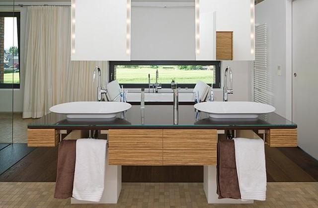 Moderne badezimmermöbel doppelwaschbecken  Badezimmer Doppelwaschbecken