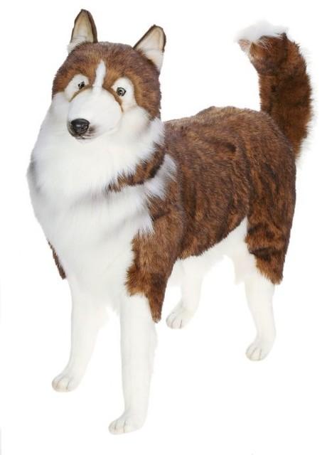 Life Size Husky Dog Stuffed Animal Contemporary Kids Toys And