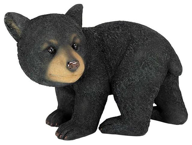 Roly-Poly Bear Cub Statues: Walking Bear