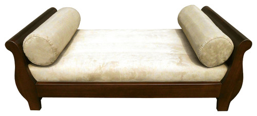 Mahogany Sleigh Pet Bed