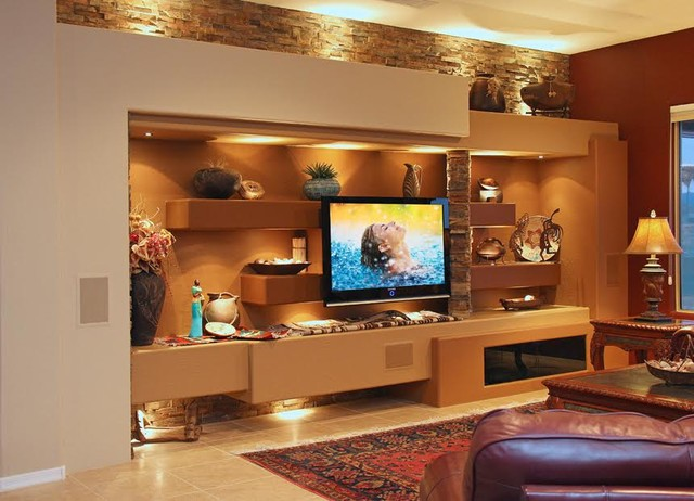 dagr design custom media wall entertainment center