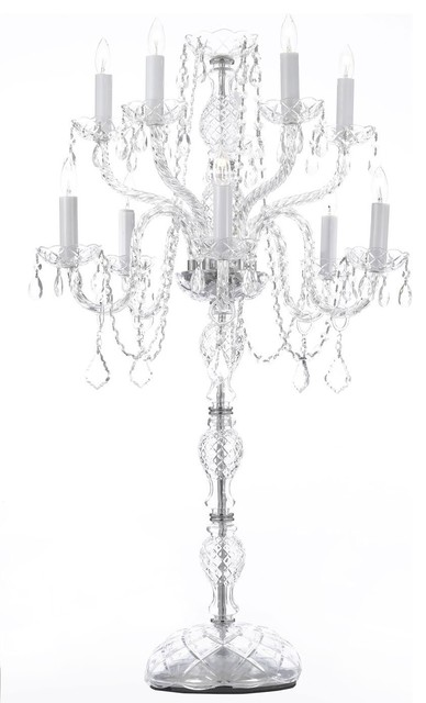 10 piece set wedding candelabra centerpieces traditional for Ornamental centrepiece for a dining table