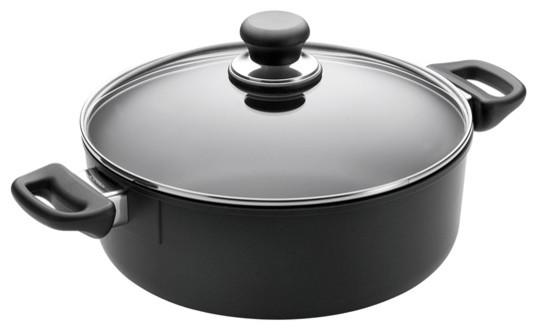 Scanpan Classic, 2 3/4 Qt Covered Low Sauce Pot.