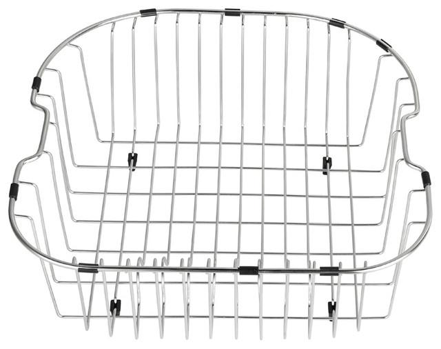 kraus usa inc kraus stainless steel rinse basket kitchen sink accessories houzz. Black Bedroom Furniture Sets. Home Design Ideas