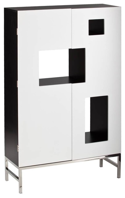 Shadowbox Wine Cabinet - Contemporary - Wine And Bar Cabinets - by ShopLadder
