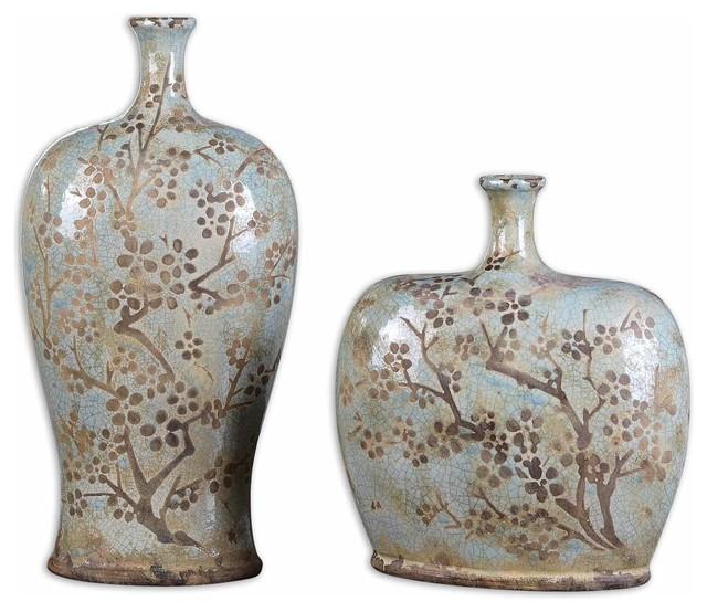 Uttermost Citrita Vases, Set of 2
